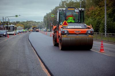 Уже 10 дорог отремонтировали в Ленинском округе