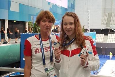 Подмосковная спортсменка выиграла серебро на турнире по плаванию в Будапеште