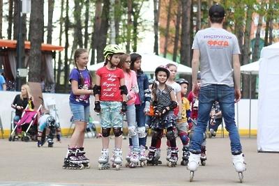Бесплатный урок по катанию на роликах пройдет на стадионе Домодедова 25 августа