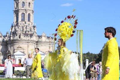 Более 200 артистов выступили на первом дне фестиваля «Сон в летнюю ночь» в Подольске