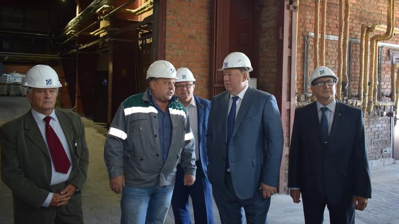 Председатель комитета Госдумы по аграрным вопросам посетил химкомбинат Воскресенска