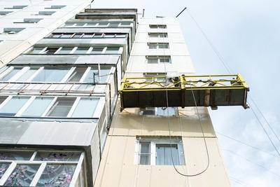 УК восстановила фасад дома в Лосино‑Петровском по предписанию Госжилинспекции Подмосковья