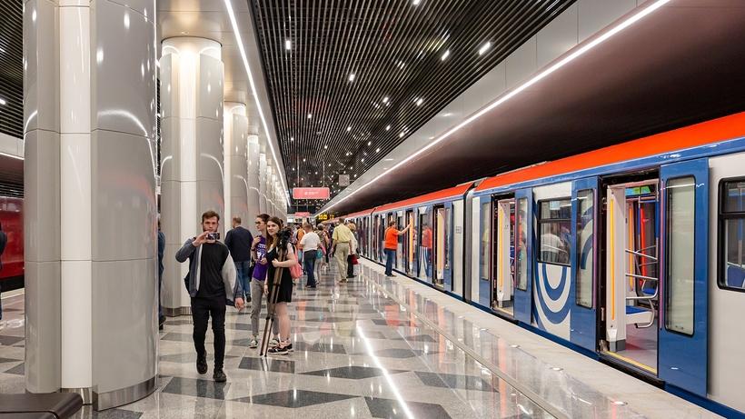 Движения поездов нет на участке «розовой» ветки метро