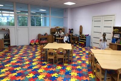 Детский сад открыли после капремонта в деревне Волоколамского округа