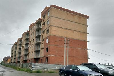 В поселке Солнечногорска возобновили строительство жилого комплекса на 100 квартир