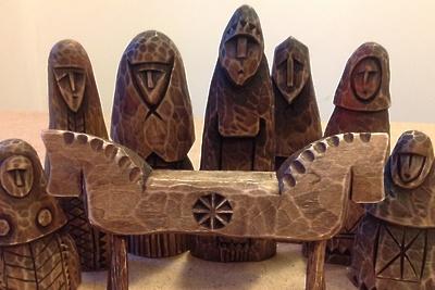 Игрушки из дерева и вязаную одежду представят мастера на фольклорном фестивале в Подольске