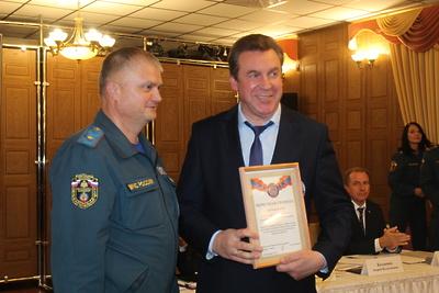 В Люберцах наградили директора ЕДДС округа за профессионализм