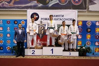 Воспитанник спортшколы Подольска выиграл соревнования по дзюдо памяти Романа Катасонова