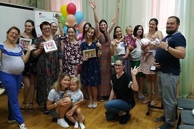 Бесплатные занятия о грудном вскармливании проводят для будущих мам в Балашихе