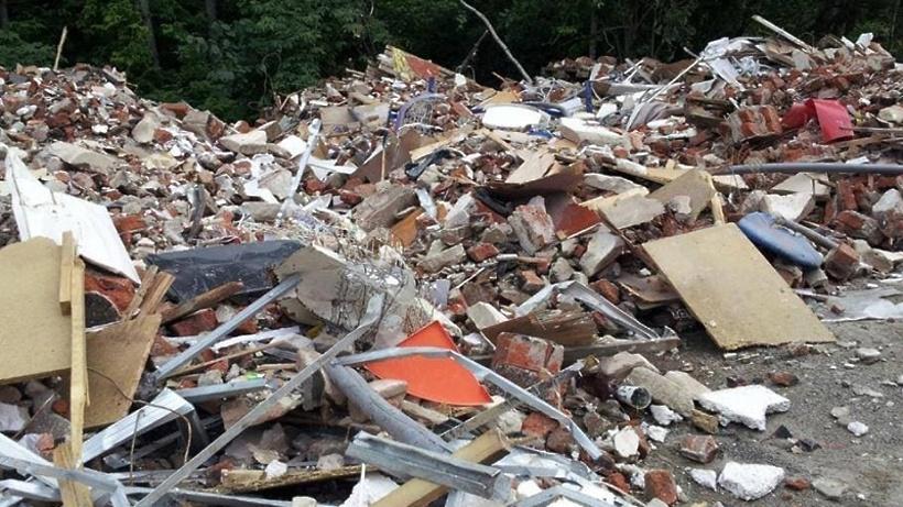 Фотоловушки помогли найти виновников незаконного складирования мусора в Дубне
