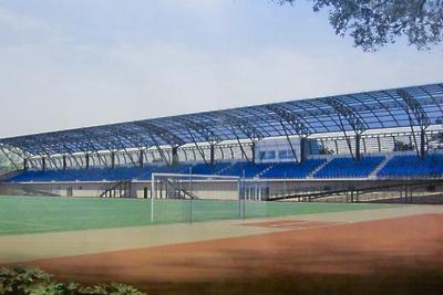 Стадион «Центральный» в Волоколамске реконструируют в 2021 году