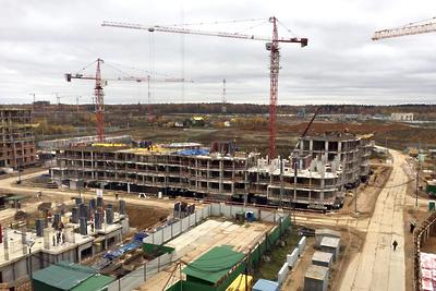 Строительство двух домов ЖК «Лайково» в Одинцове ведется по утвержденному графику