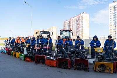 170 единиц дорожно‑уборочной техники будет работать зимой в Ленинском округе