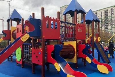 Детскую площадку по губернаторской программе откроют в Красногорске 19 октября