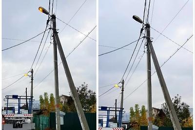 Подрядчики выполнили ремонт сетей освещения в поселке Томилино Люберец