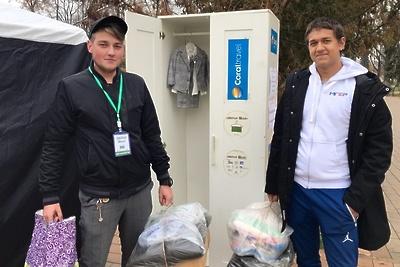 Свыше 500 человек приняли участие в акции «Добрый шкаф» в Люберцах