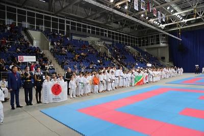 Более 100 подмосковных спортсменов приняли участие в турнире по каратэ им Геннадия Зайцева