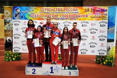 Подмосковные спортсмены выиграли золото на всероссийских соревнованиях по стрельбе