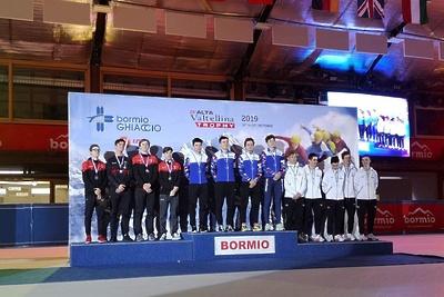 Представители Подмосковья привезли с международных соревнований по шорт‑треку 5 медалей