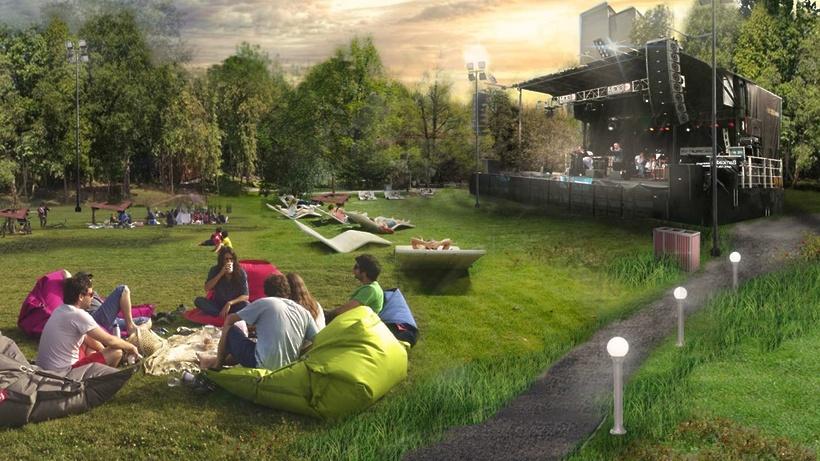 Сцена, площадки для спорта, отдыха и ярмарок появятся на набережной в Дубне