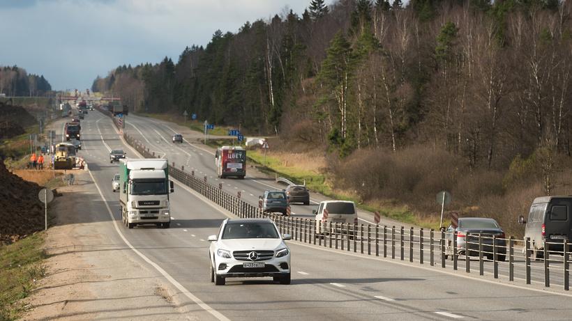 Движение по новому путепроводу запустят на трассе М‑1 в Подмосковье к 21 мая