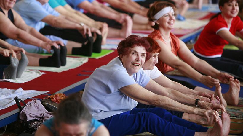 Регулярные занятия по утренней гимнастике проходят в Щелкове