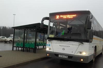 Автобусы маршрута №32 теперь заезжают в деревню Лупаново Дмитровского округа