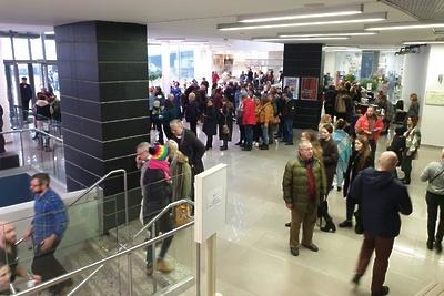 Более 3 тыс человек посетили выставку художника Марка Шагала в Подмосковье