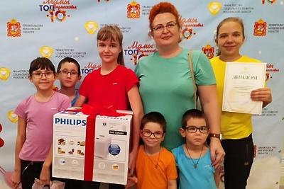 Жительница Дмитрова победила в номинации конкурса «Мамы Подмосковья. Топ‑10»