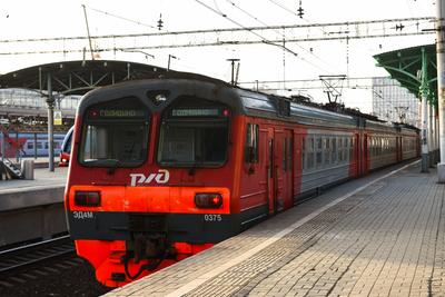 Число пассажиров в электричках Подмосковья сократилось на 64%