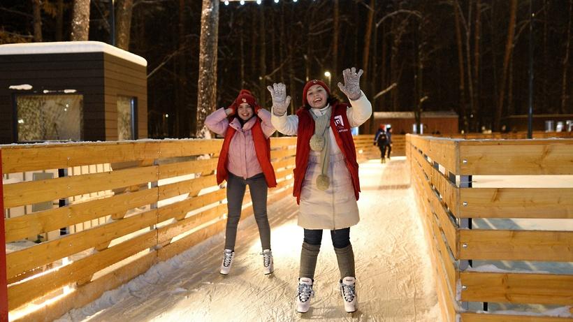 Каток в парке «Пехорка» Балашихи заработает с 1 декабря