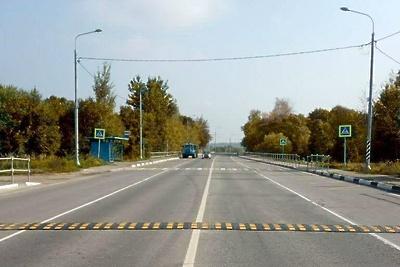 Пешеходные переходы на региональных дорогах в Рузском округе сделали безопаснее