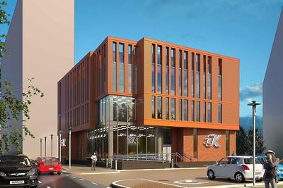 Торгово‑административное здание построят в Одинцове