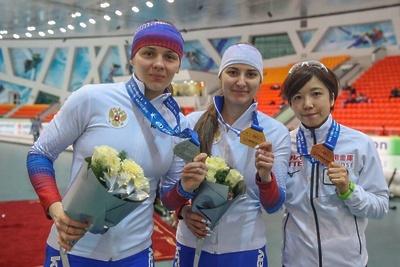 Конькобежка из Подмосковья завоевала серебро на III этапе Кубка мира