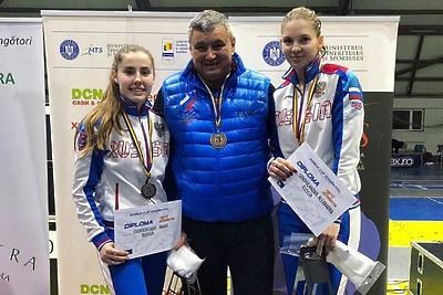 Подмосковная спортсменка завоевала бронзу на Кубке мира по фехтованию