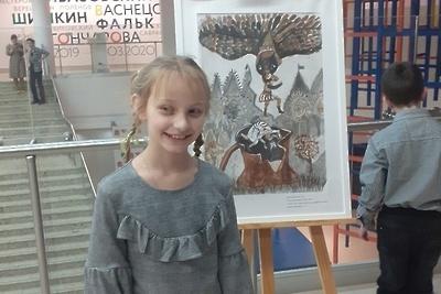 Работы 13 юных художников из Подольска стали иллюстрациями к книге «Сказки Эльзаса»