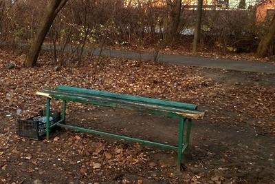 В микрорайоне Климовск Подольска в 2020 году заменят лавочки