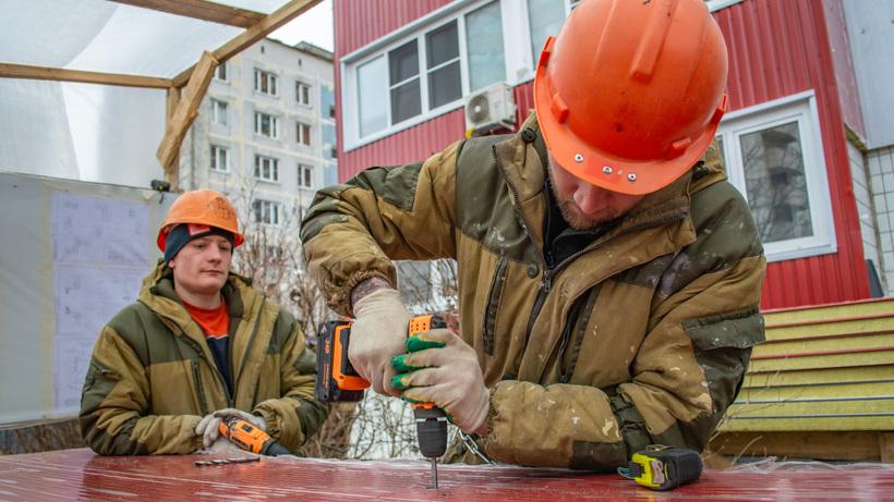 88 домов в Реутове капитально отремонтируют до конца года