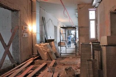 Отделочные работы начались в школе №28 в Подольске