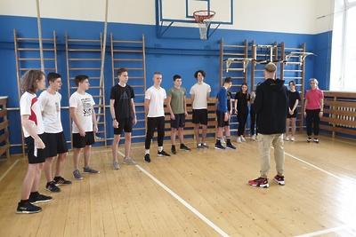 Мастер‑класс по кроссфиту провели для школьников Люберец