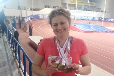 Подольская спортсменка завоевала три золота на чемпионате по легкой атлетике