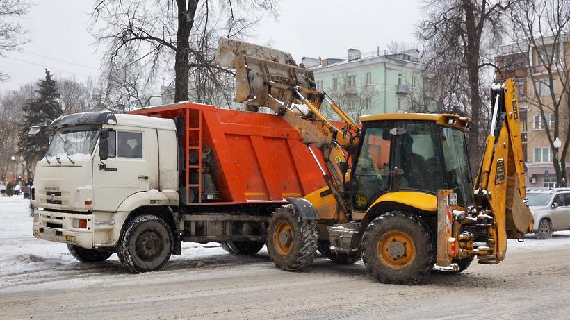 В Балашихе определили 10 мест для складирования снега зимой