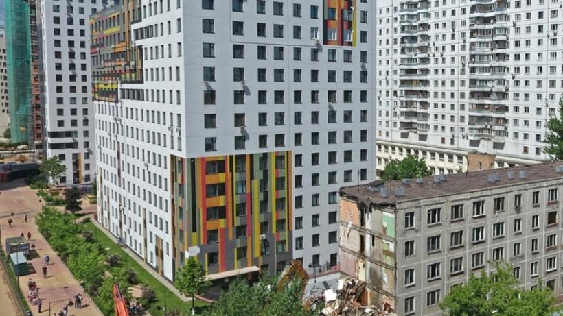 Программу реновации жилья реализуют в девяти округах Москвы