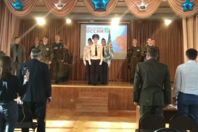 Школьники Котельников состязались в строевой подготовке на конкурсе «Готов служить России»