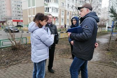 УК рекомендовали обустроить двор в микрорайоне Кузнечики Подольска