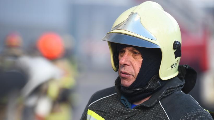 Пожар произошел в квартире на Пролетарской улице в Балашихе