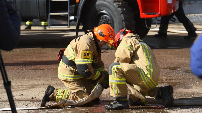 Три пожара произошло в Люберцах на минувшей неделе