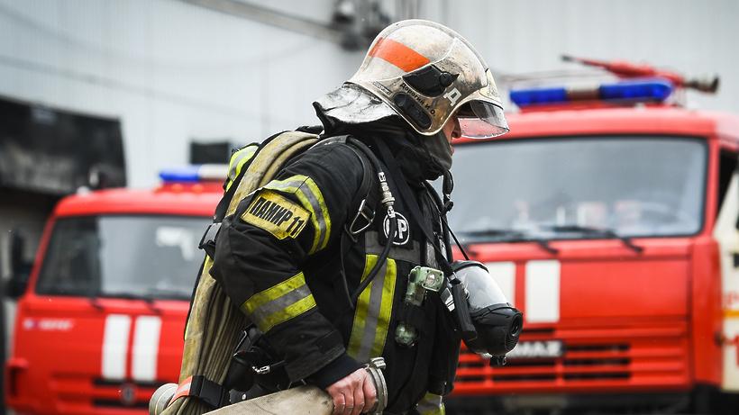 Квартира загорелась в ЖК «Марусино» Люберец