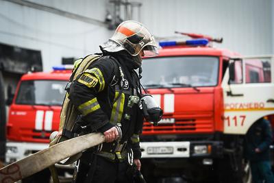 Возгорание в нежилом здании на улице Горького ликвидировали в Подольске