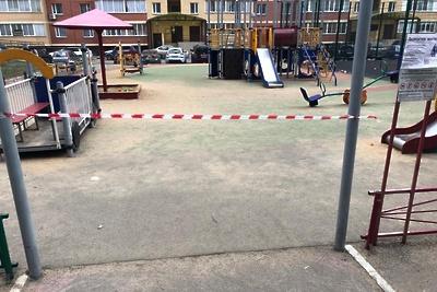 Детские площадки в Щелкове закрыли для посещения из‑за коронавируса
